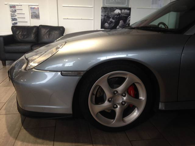 Porsche 911 Turbo 3.6 2dr Coupe Petrol Grey