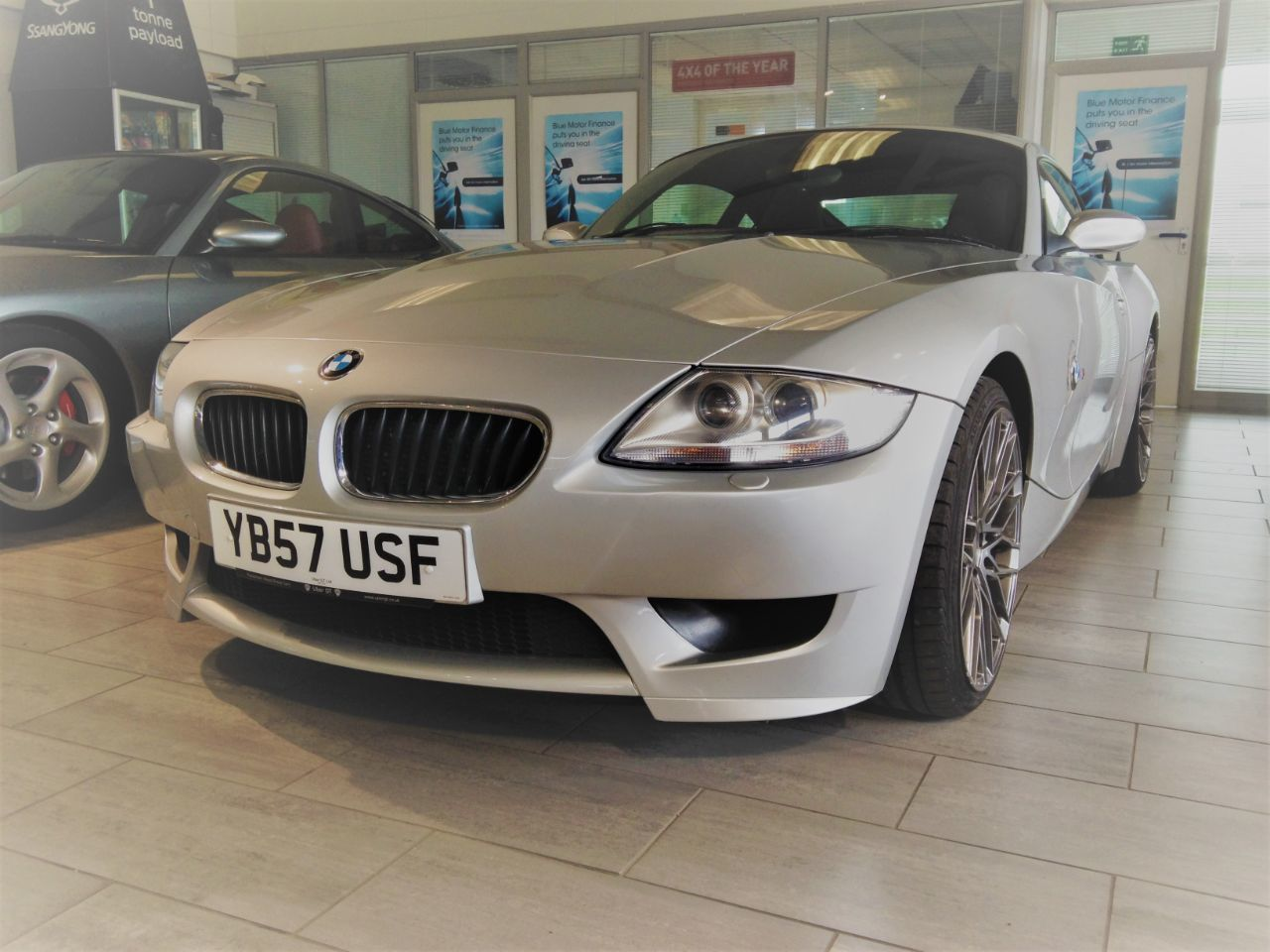 BMW Z4m Z4M Coupe 3.2 2dr Coupe Petrol Silver