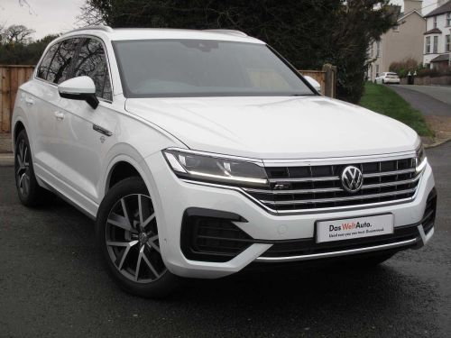 Volkswagen Touareg R-Line 3.0 TDI SCR 286PS 4MOTION 5dr Crossover Diesel Pure White