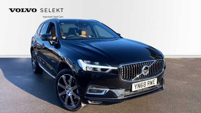 Volvo XC60 2.0 T8 Twin Engine AWD Inscription Pro (Demonstrator) Crossover Petrol 717 Onyx Black