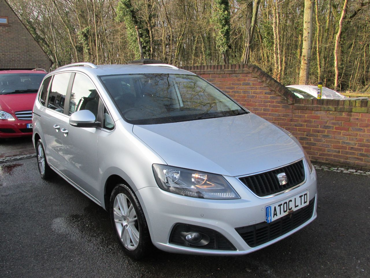 Seat Alhambra 2.0 Tdi Se Ecomotive Dsg Auto 170bhp MPV Diesel Silver at A Touch of Class Kingsnorth