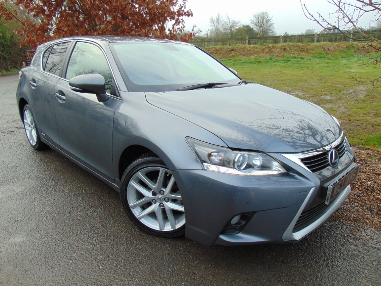 Lexus CT 200h 1.8 Advance 5dr CVT Auto (1 Owner! Full Lexus SH! ++) Hatchback Petrol / Electric Hybrid Mercury Grey Mica