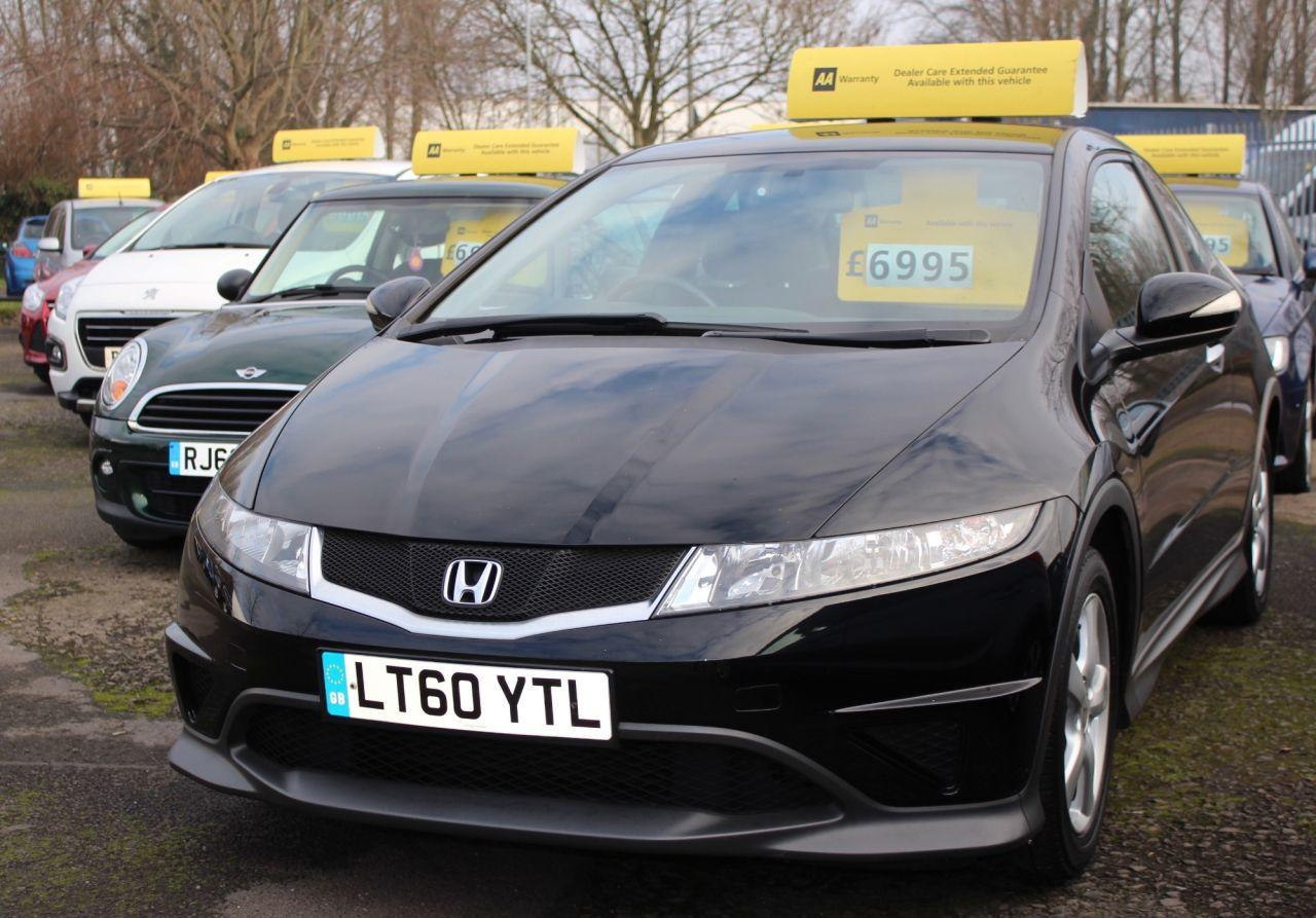 Honda Civic 1.3 I-VTEC TYPE S 3d 98 BHP Hatchback Petrol BLACK