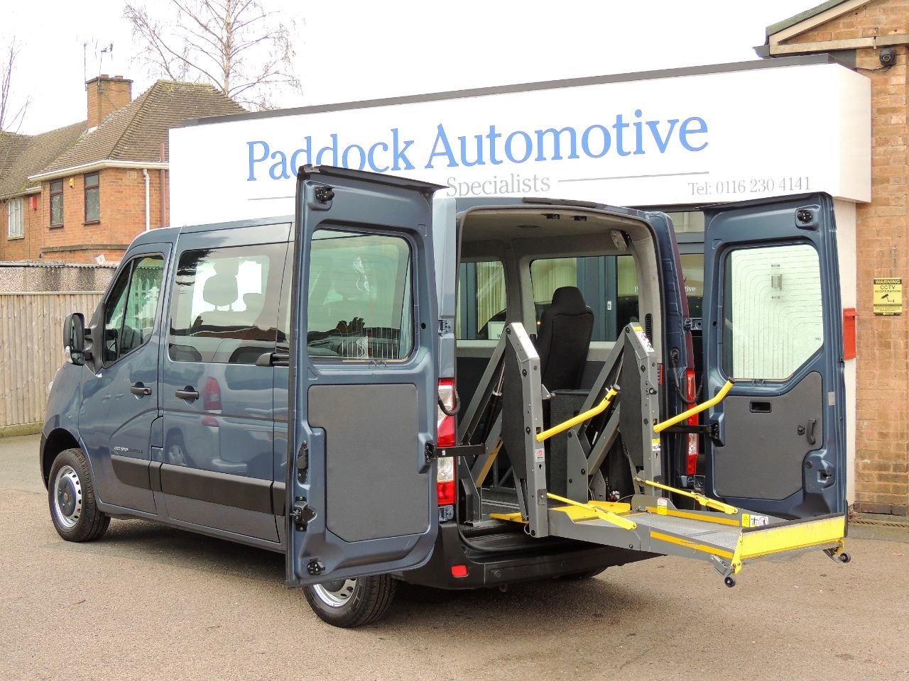 Renault Master 2.3 SL28dCi 100 Disabled Wheelchair Adapted Vehicle WAV Wheelchair Adapted Diesel Blue Mica