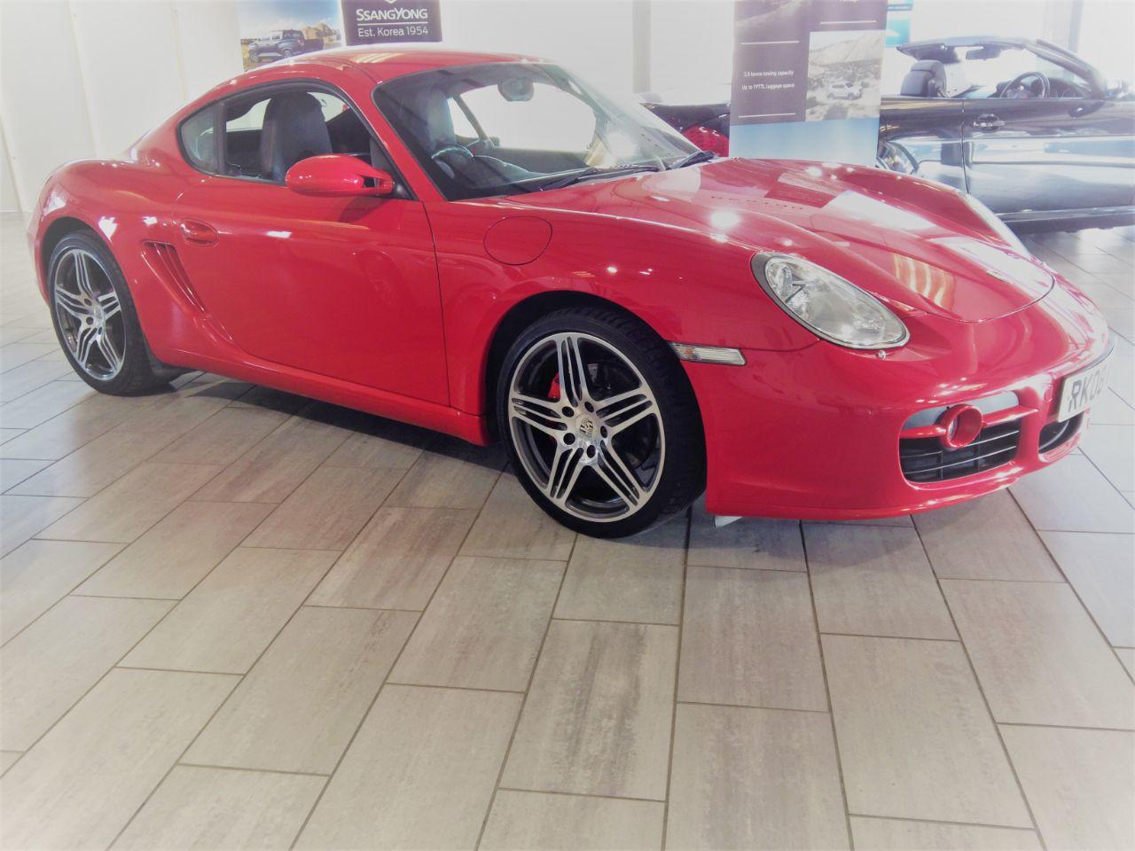 Porsche Cayman 3.4 S 2dr Tiptronic S Coupe Petrol Red