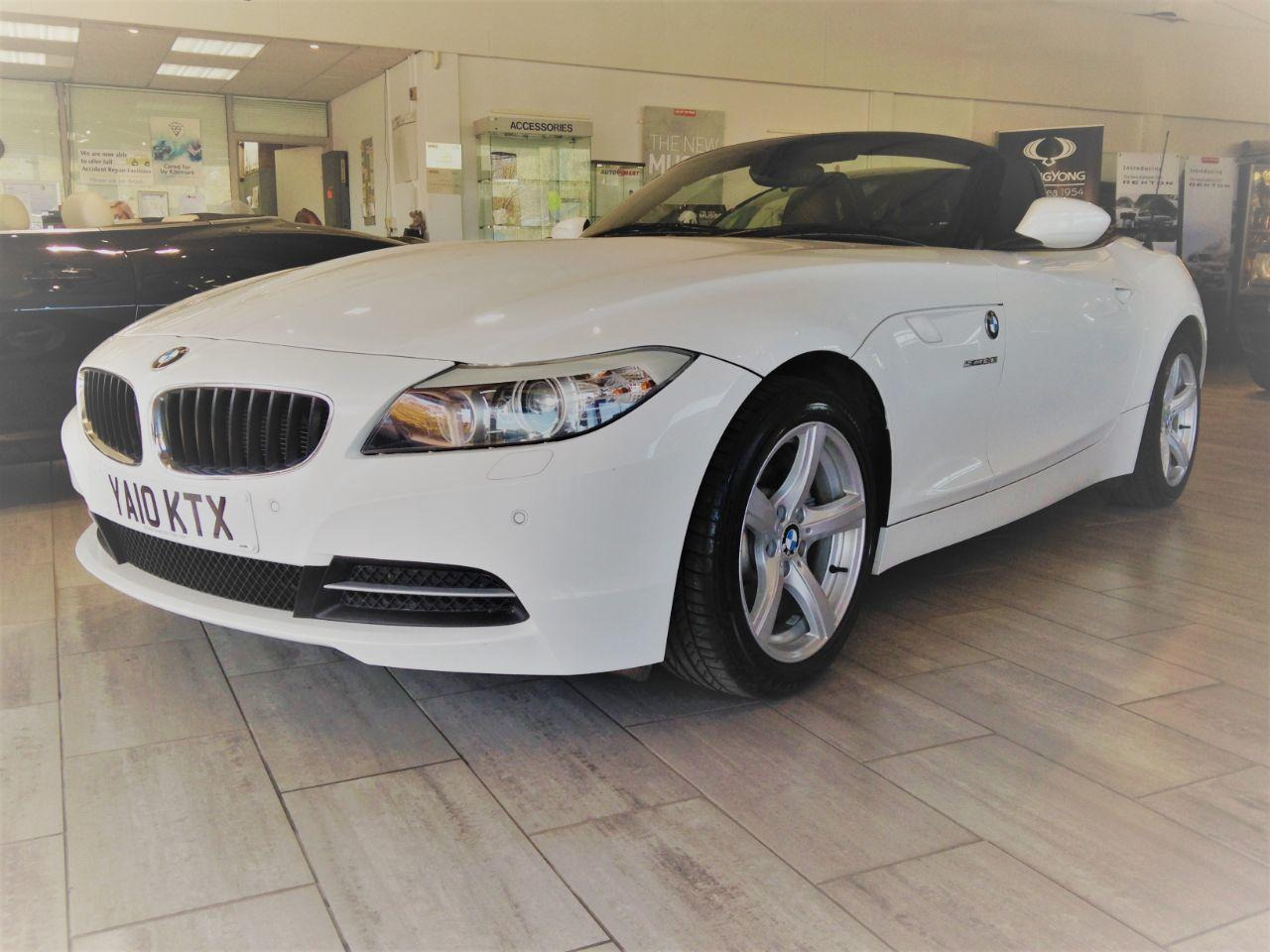 BMW Z4 3.0 30i Highline 2dr Auto Convertible Petrol White