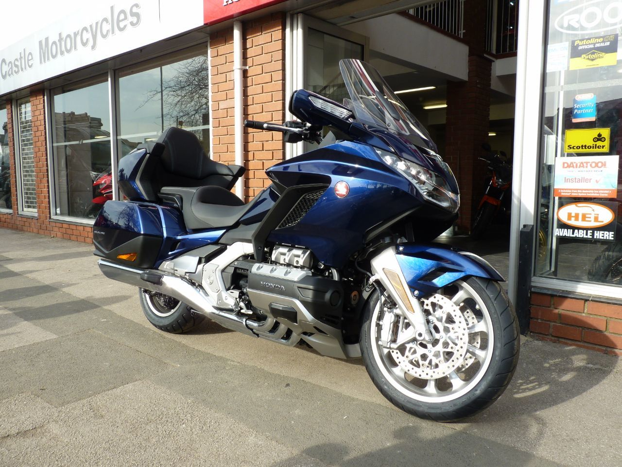 Honda GL1800 Goldwing 1.8 GL1800 Tourer Petrol Blue