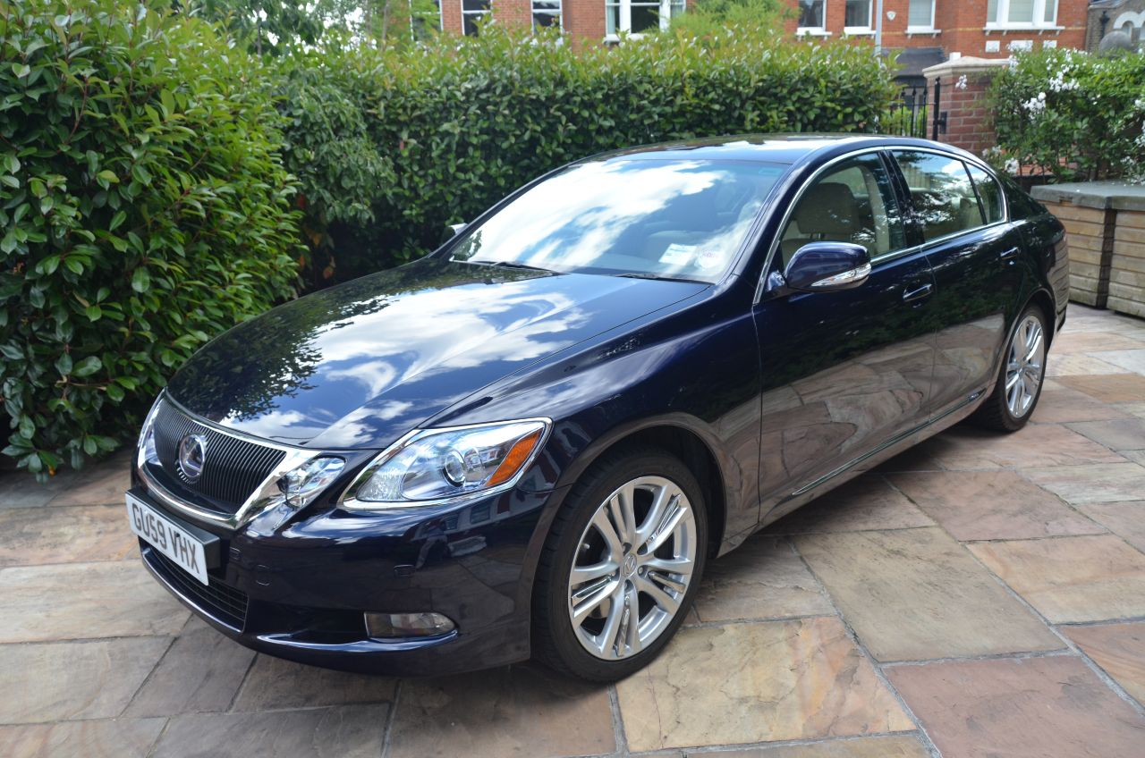 ... Lexus GS 450h 3.5 2008 4dr CVT Auto [Leather] ...