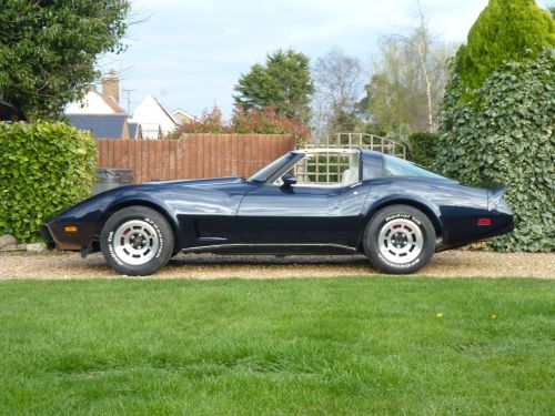 Chevrolet Corvette 5.7 C3 Coupe Petrol Blue