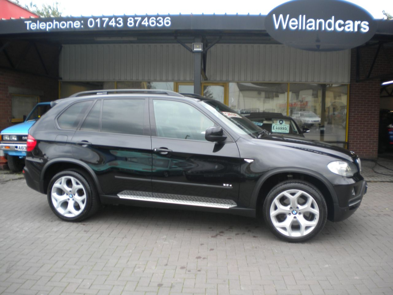 BMW X5 3.0d SE 5dr Auto/Tip MSport, F/S/H, Huge Spec, Navigation, PDC, Leather, Pan Roof Estate Diesel Black Metallic at Welland Cars Shrewsbury