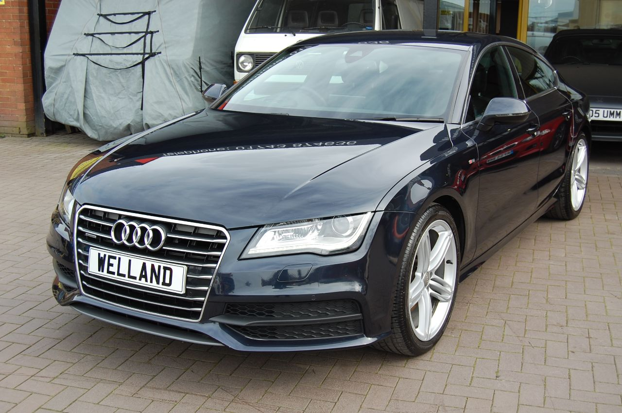 2011 Audi A7 A7 S LINE 3.0TDI QUATTRO AUTO 1 FORMER KEEPER HUGE SPECIFICATION