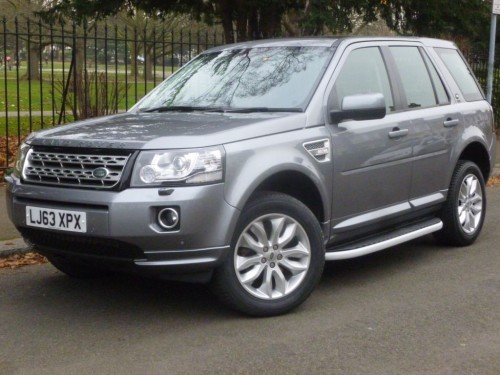 Land Rover Freelander 2.2 SD4 HSE Estate Diesel Orkney Grey with Black leather