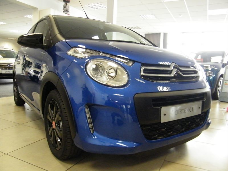 Citroen C1 1.0 VTi 72 Urban Ride 5dr Hatchback Petrol Blue