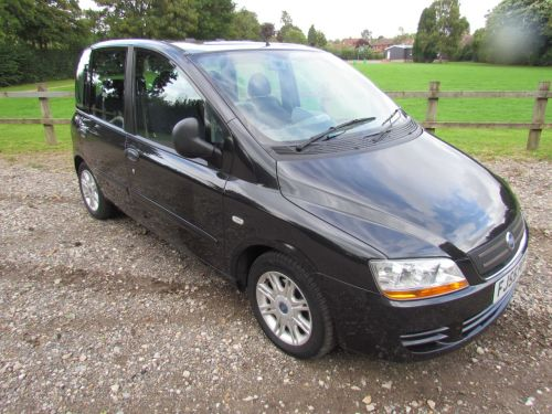 used fiat multipla and second hand fiat multipla in london. Black Bedroom Furniture Sets. Home Design Ideas