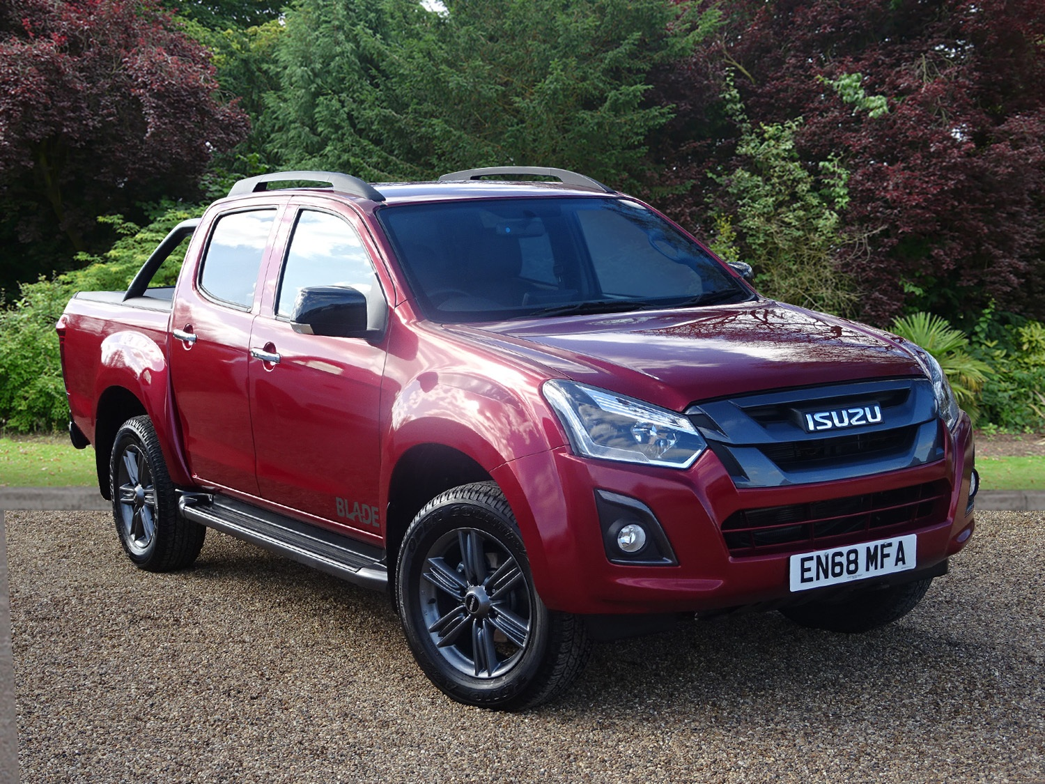 Isuzu D-Max 1.9 Blade Double Cab 4x4 Auto Pick-up Diesel RED