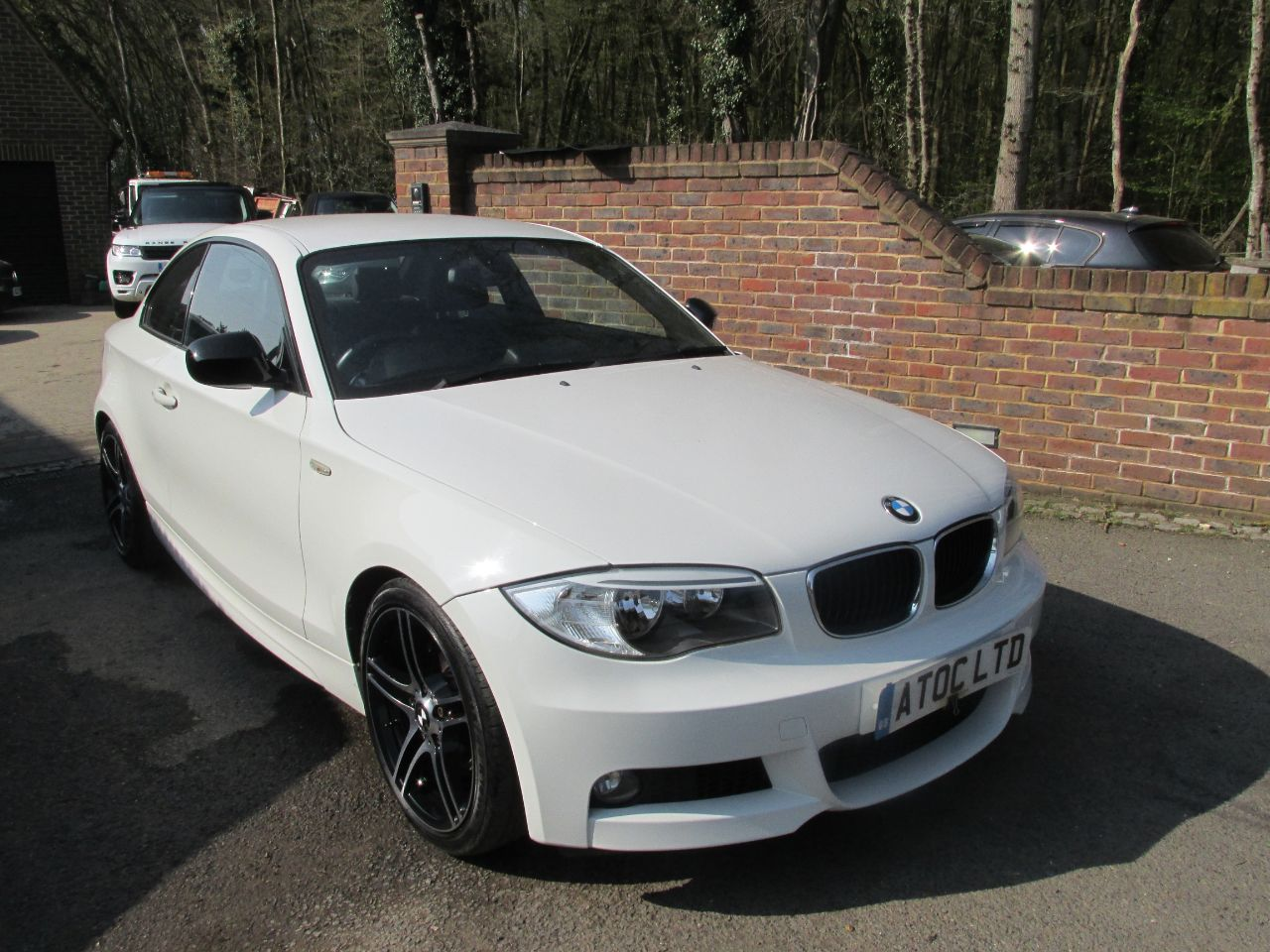 BMW 1 Series 3.0 125i Sport Plus Edition 2dr Step Auto Coupe Petrol White