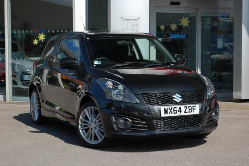 Suzuki Swift 1.6 Sport 3dr + Nav Hatchback Petrol Cosmic Black Pearl Metallic