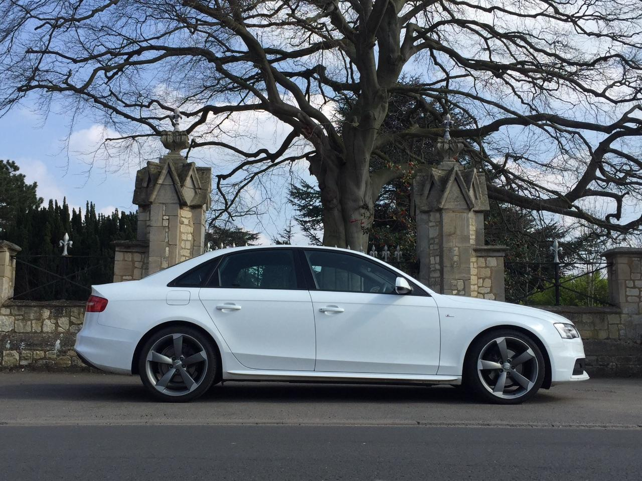 Audi A4 1.8T FSI 170 S Line 4dr Black Edition Saloon Petrol White