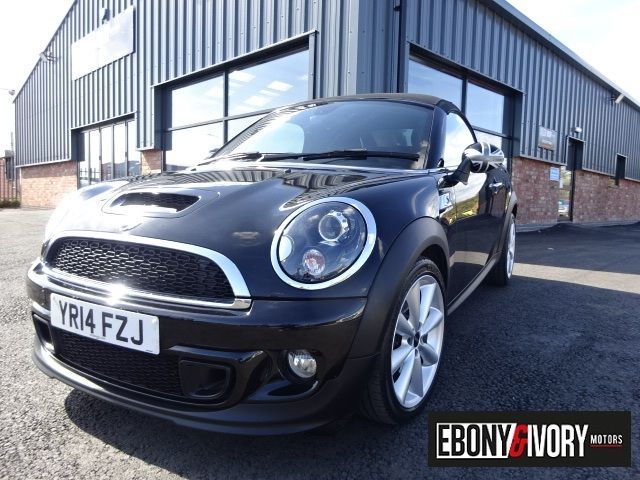 Mini Roadster 2.0 Cooper S D 2dr + FULL MINI SERVICE HISTORY Convertible Diesel Black