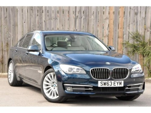 BMW 7 Series 3.0 SE Saloon Diesel Midnight Blue