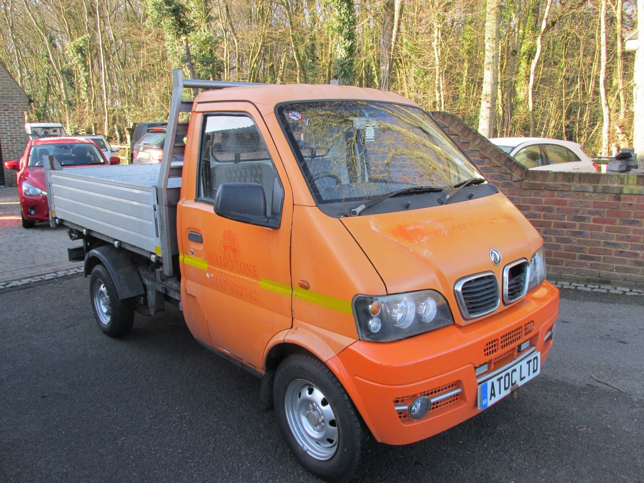 Dfsk Loadhopper 1.3 PETROL Tipper Petrol Orange at A Touch of Class Kingsnorth