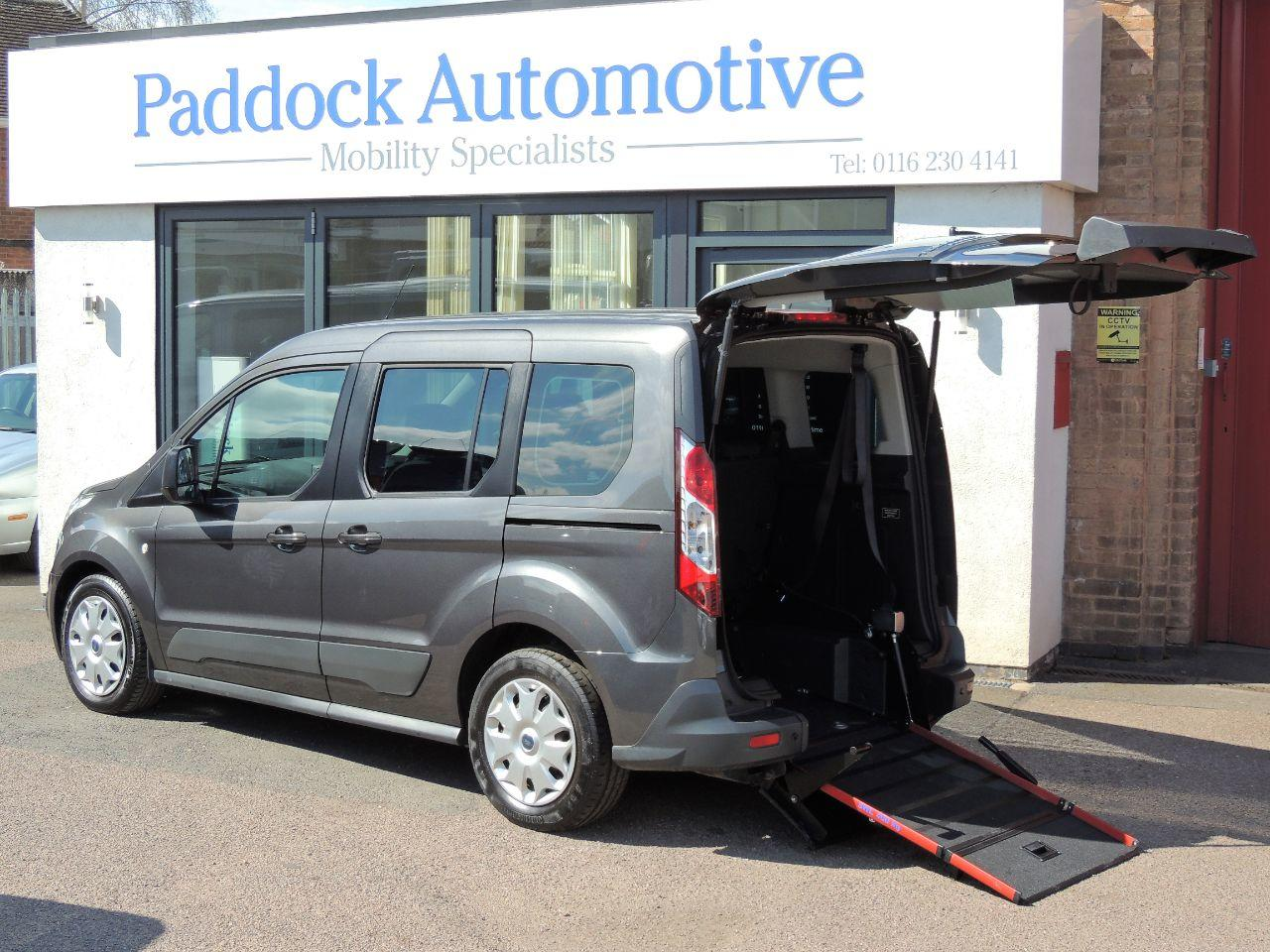 Ford Tourneo Connect Zetec 1.5TDCi Freedom RS Disabled Wheelchair Adapted Vehicle WAV Wheelchair Adapted Diesel Magnetic Grey Mica