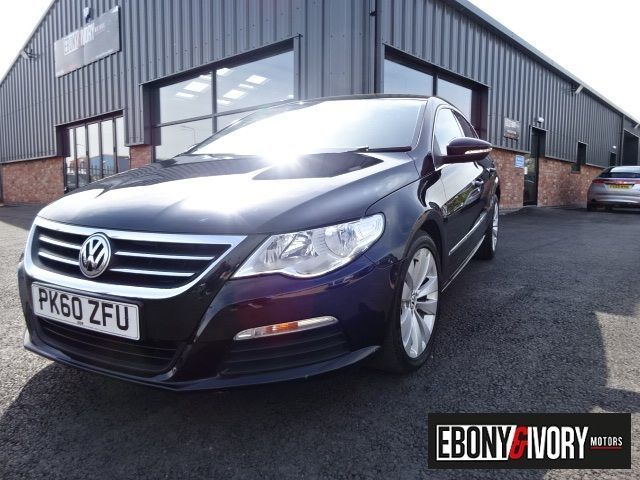 Volkswagen Passat Cc 2.0 TDI CR 4dr + FULL SERVICE HISTORY Coupe Diesel Black