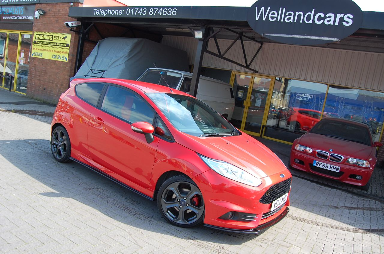Ford Fiesta 1.6 ST 2 3 DOOR STAGE 2 RE MAP 260 BHP ENHANCED BY CE.UK Hatchback Petrol Orange at Welland Cars Shrewsbury