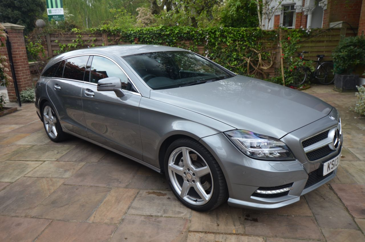 Mercedes-Benz CLS 3.0 CLS 350 CDI BlueEFFICIENCY AMG Sport 5dr Tip Auto