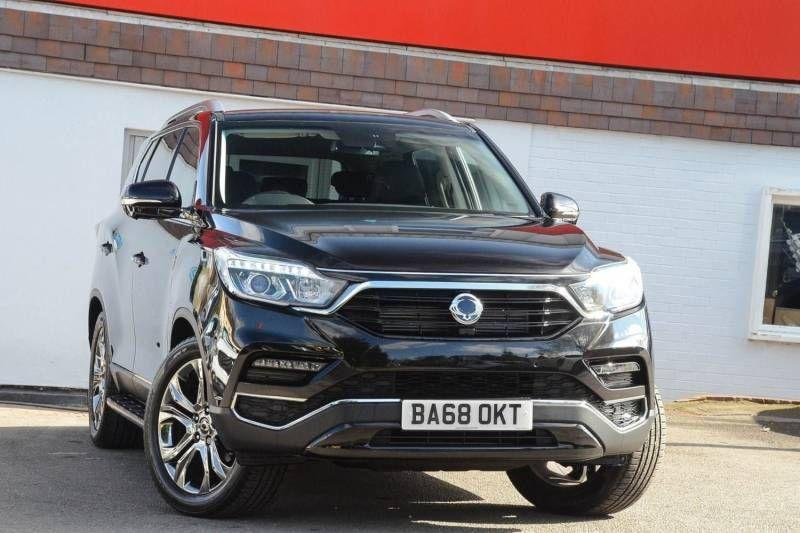 SsangYong Rexton 2.2 Ultimate 5dr Auto Estate Diesel Black