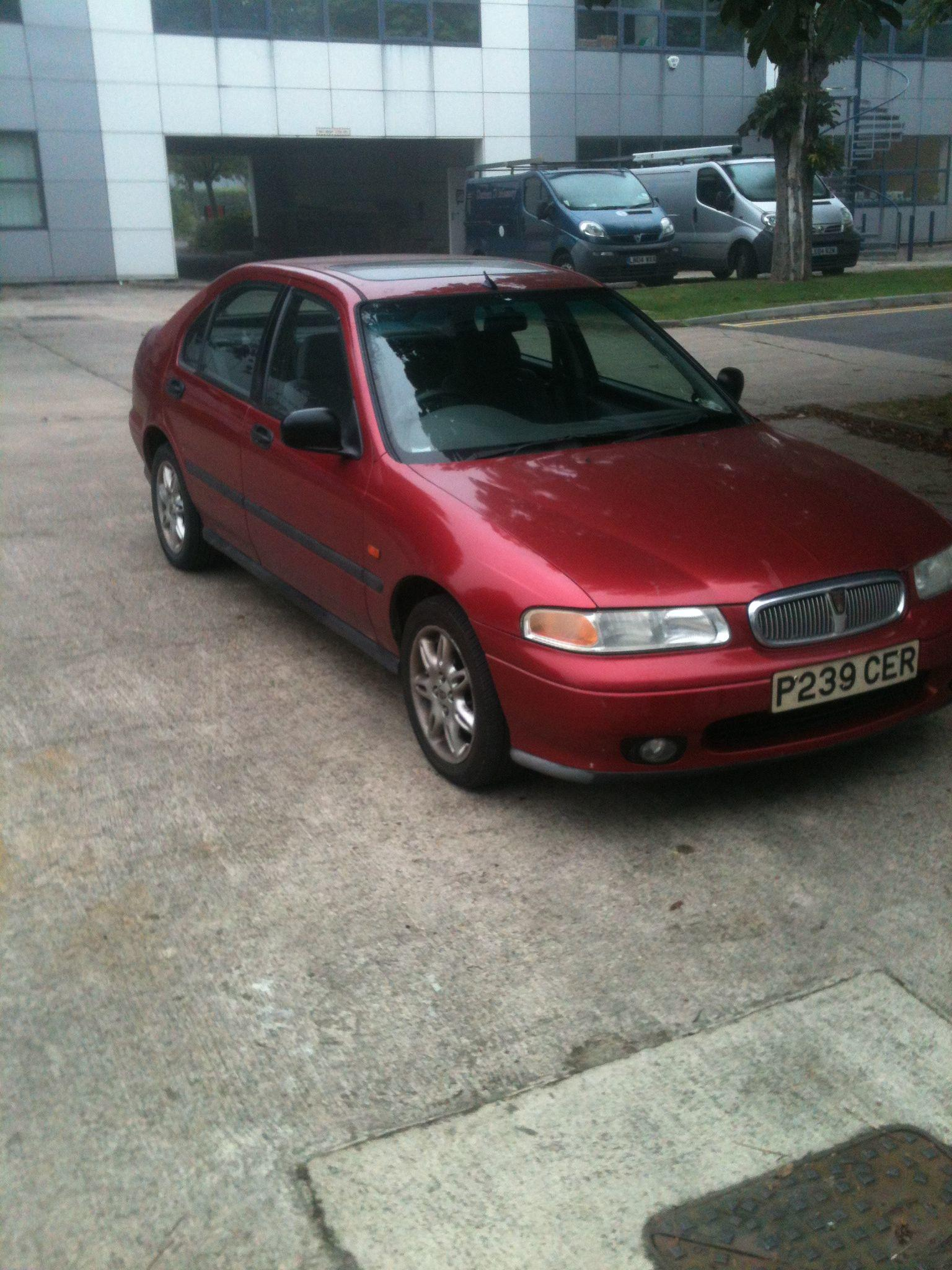 Rover 400 1.6 SLI HATCHBACK PETROL RED