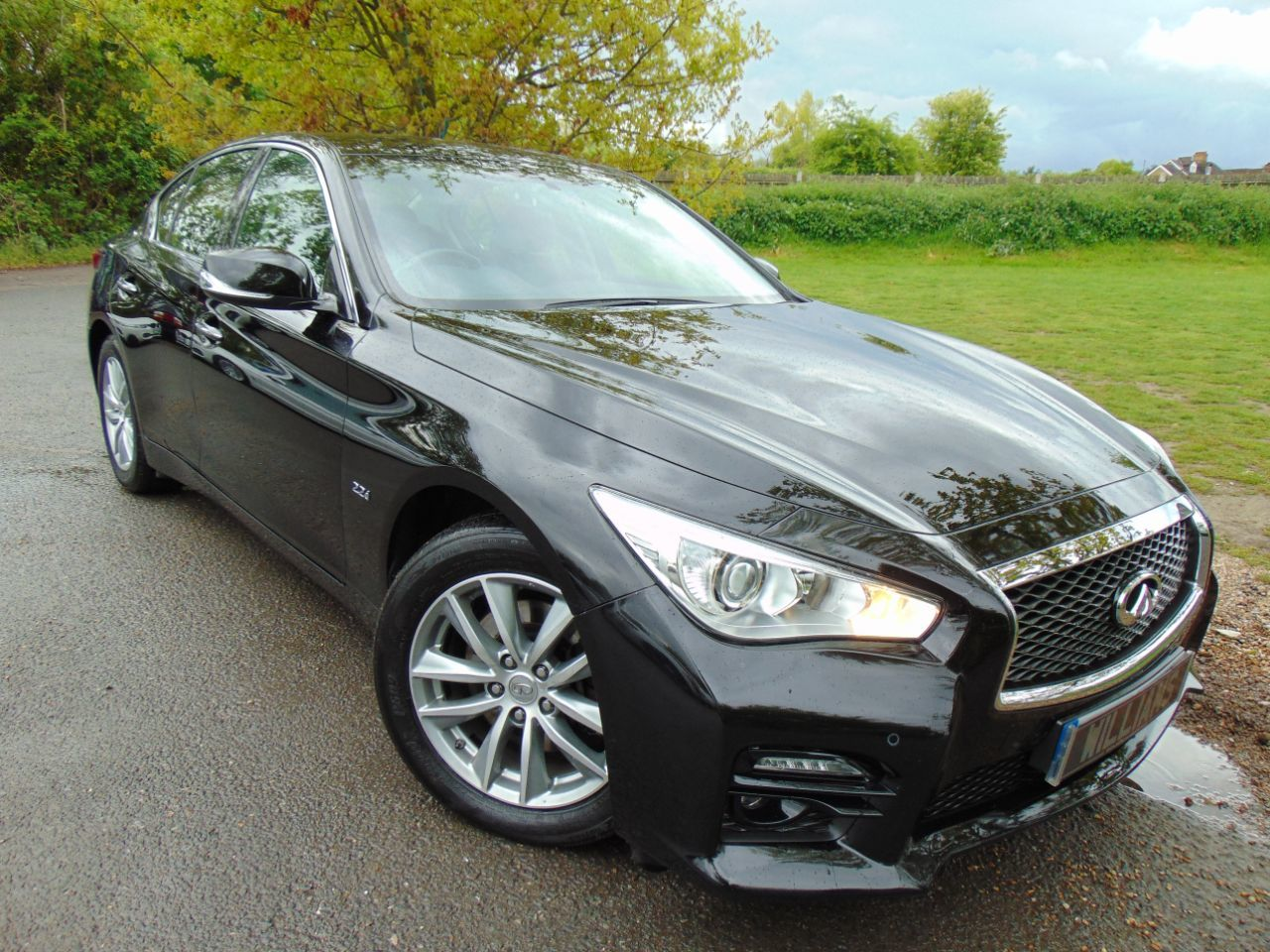 Infiniti Q50 2.1 Q50 SE EXECUTIVE D Saloon Diesel Black