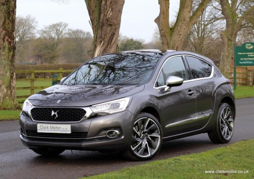 Ds Ds 4 2.0 BlueHDi Prestige EAT6 (s/s) 5dr Hatchback Diesel Grey
