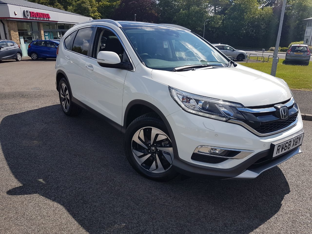 Honda CR-V 1.6 i-DTEC 160 EX 5dr Estate Diesel White
