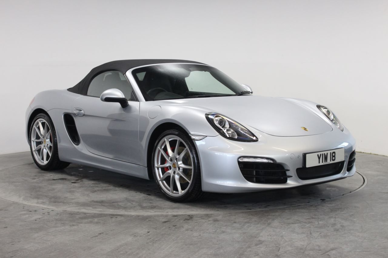 Porsche Boxster 3.4 S 2dr PDK - £8849 WORTH OF OPTIONS Convertible Petrol Silver at Rodgers of Plymouth Ltd Plymouth