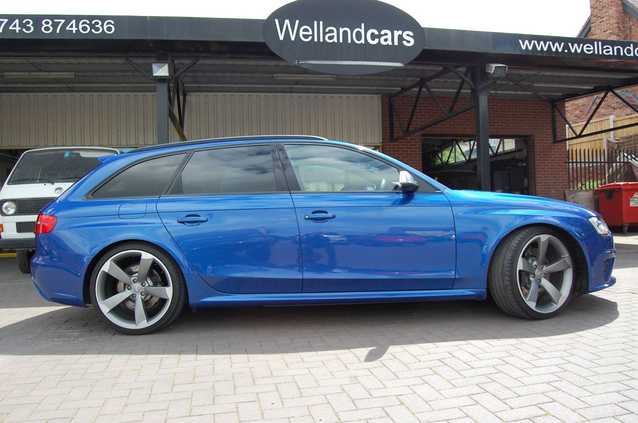 2012 Audi RS4 4.2 TFSI AUTO QUATTRO ONLY 45,000 MILES HUGE SPECIFICATION