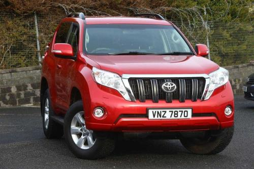 Toyota Land Cruiser 2.8 D-4D 4X4 Active (177bhp) Estate Diesel Red