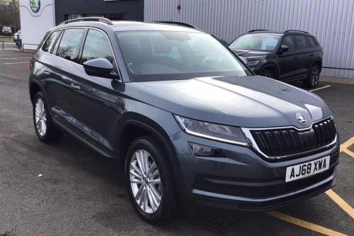 Skoda Kodiaq 2.0TDI (150ps) 4X4 SE L (7 seats) SCR DSG Estate Diesel Grey