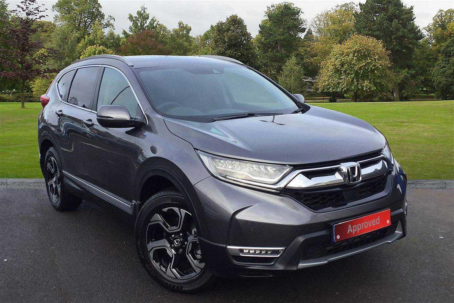 Honda CR-V 1.5 VTEC TURBO SR 4WD Estate Petrol Modern Steel Metallic