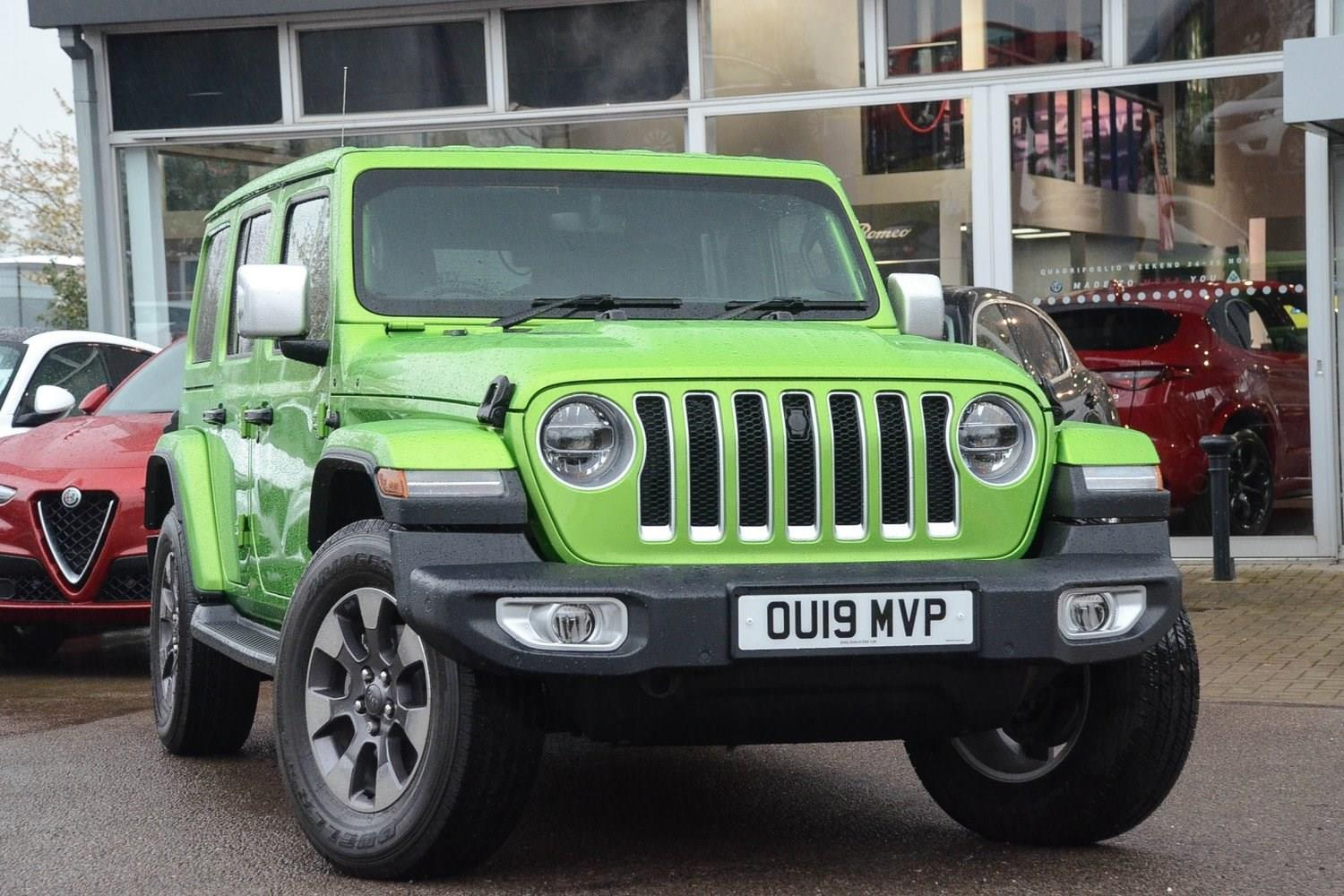 Jeep Wrangler 2.0 GME (272bhp) 4X4 Overland Estate Petrol Mojito Clearcoat Metallic