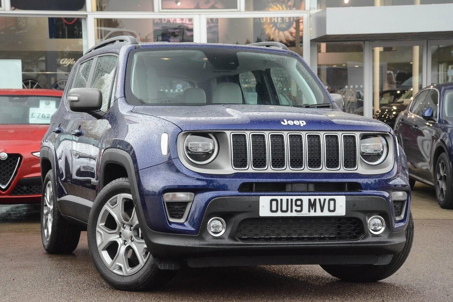 Jeep Renegade 1.0 GSE (120bhp) Limited (s/s) Estate Petrol Jetset Blue Metallic