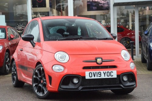Abarth 595 1.4 Tjet (180ps) Competizione Hatchback Petrol Red