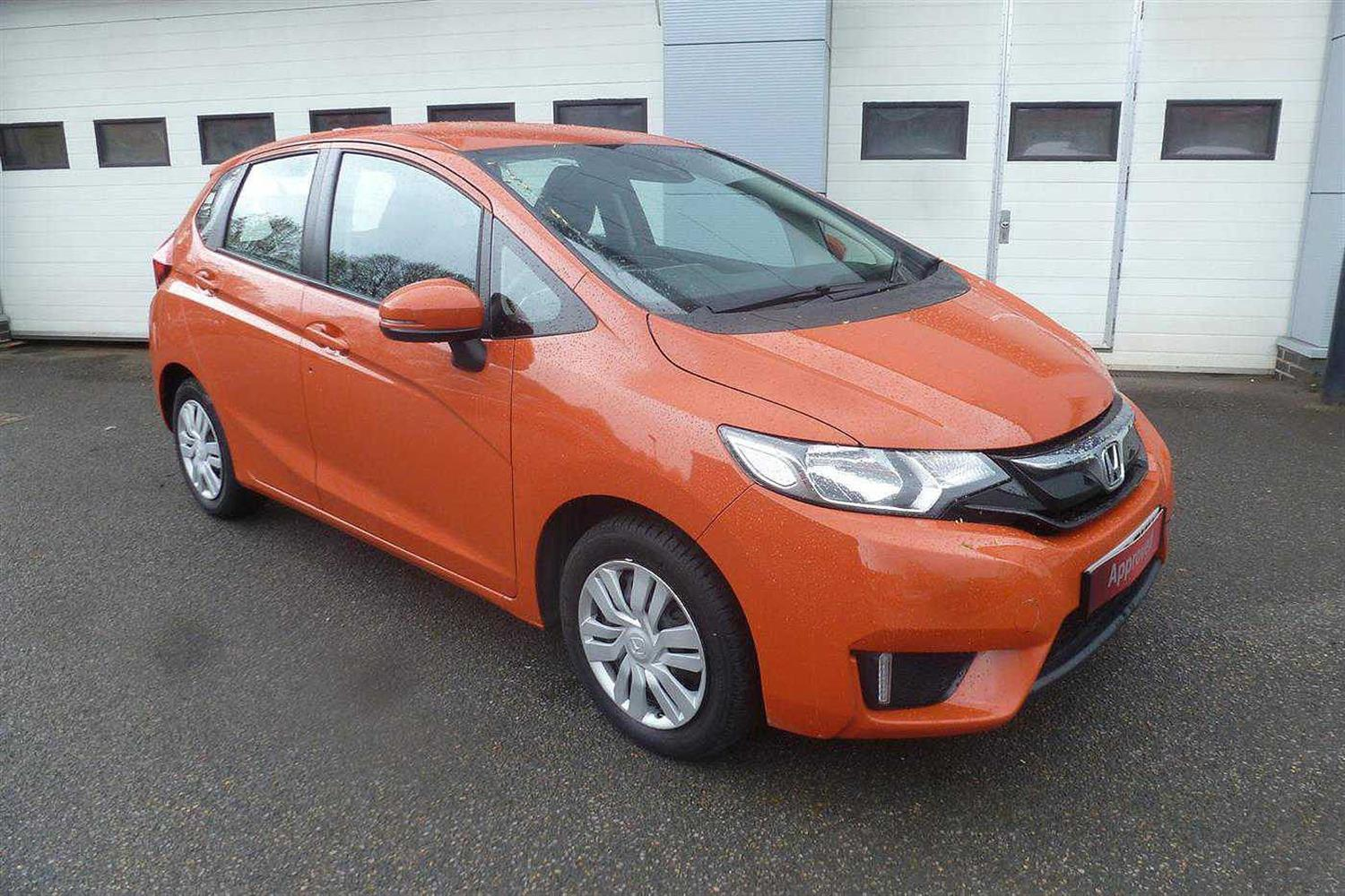Honda Jazz 1.3 i-VTEC S Hatchback Petrol Sunset Orange II