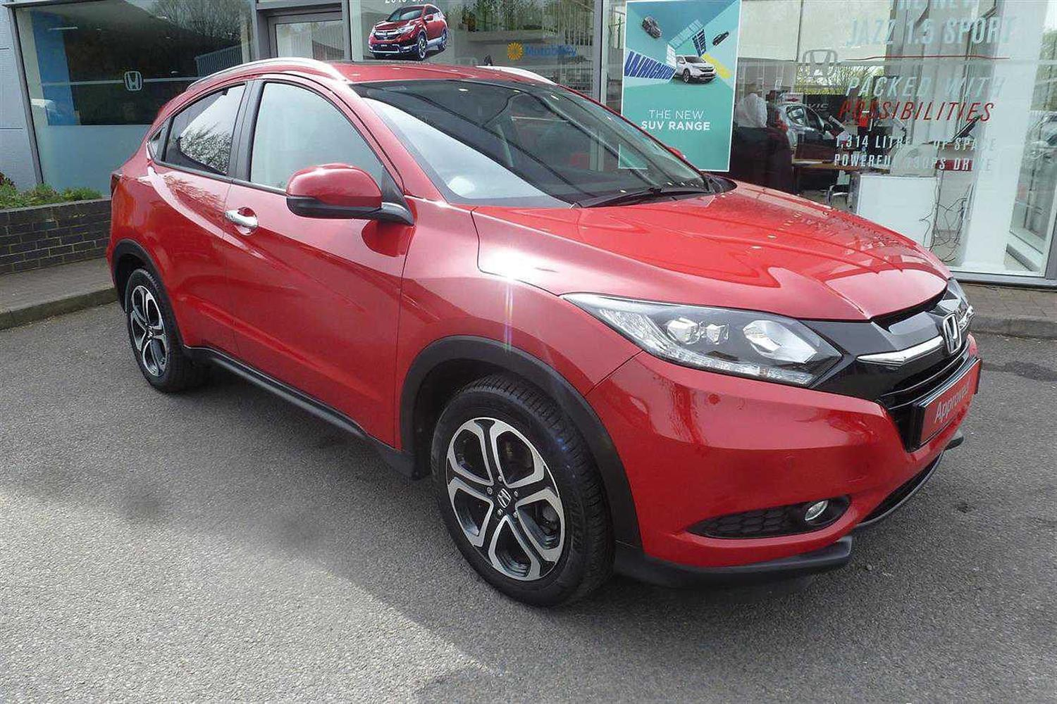 Honda HR-V 1.6i-DTEC EX (s/s) Estate Diesel Milano Red