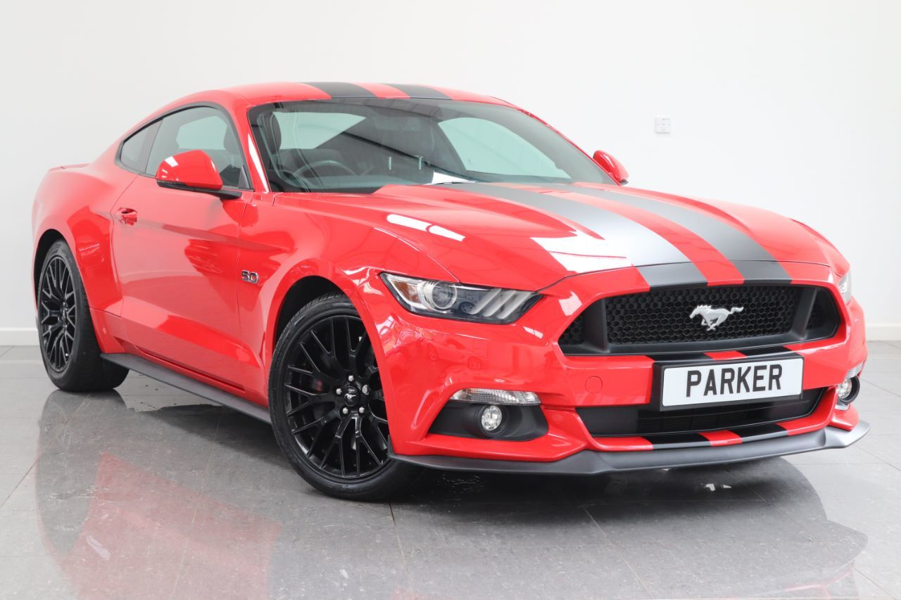 Ford Mustang 5.0 V8 GT 2dr Auto Coupe Petrol Race Red
