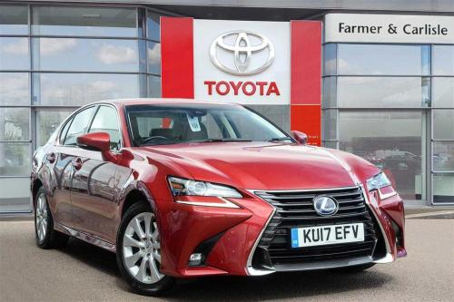 Lexus GS 2.5 Executive Edition Saloon Hybrid Red