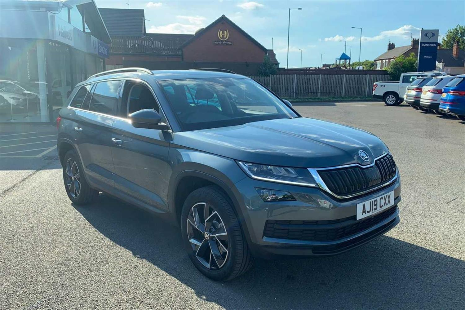 Skoda Kodiaq 2.0 TDI (190ps) 4X4 SE L (7 Seats) DSG Estate Diesel Quartz Grey