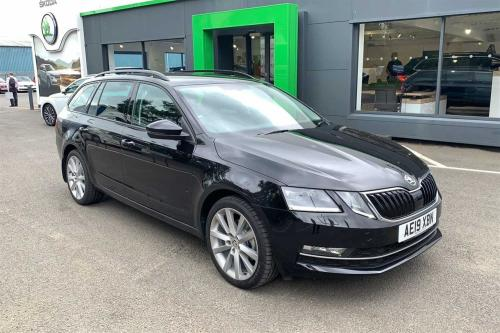 Skoda Octavia 1.5 TSI (150ps) ACT SE L DSG Estate Petrol Black Magic Pearl Effect