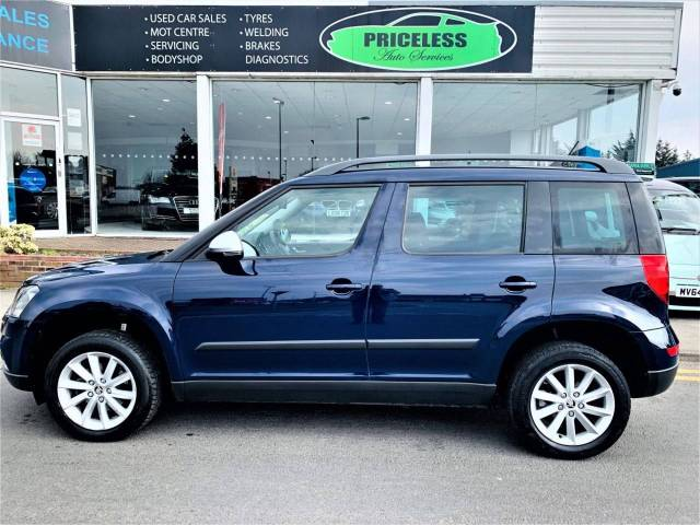 Skoda Yeti 1.6 OUTDOOR SE BUSINESS GREENLINE II TDI CR Hatchback Diesel Blue
