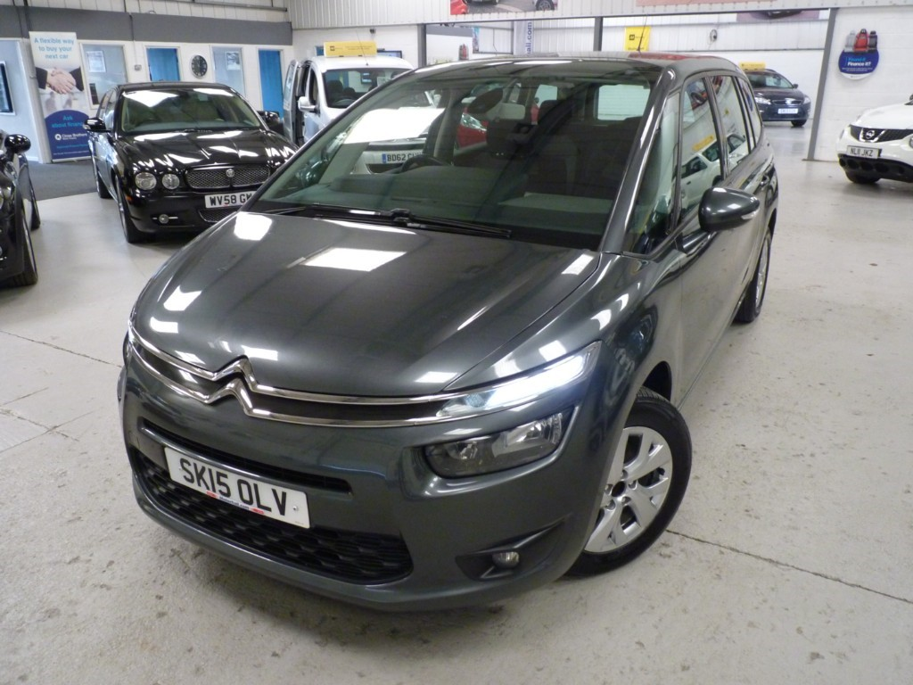 Citroen C4 Picasso 1.6 Grand E-hdi Vtr Plus + Service Hist + Just Serviced + March 20 Mot + 7 Seats + Dab + Cruise